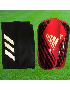 Boutique pour gardiens de but Protège tibias  Adidas - Protège tibias X Pro Rouge DN8623 / 66