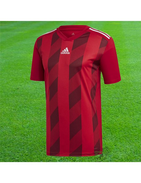 Adidas Maillot manches courtes Striped 19 Rouge