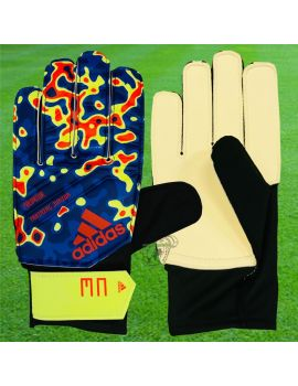 Boutique pour gardiens de but Gants de gardien junior  ADIDAS - Predator Training Junior 19 Bleu DN8605 / 242