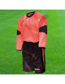 Boutique pour gardiens de but Kit Gardien (maillot  short)  MACRON - CHRONOS SET ORANGE 5437/3209
