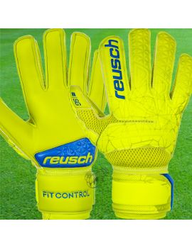 Reusch - Fit Control SG Extra Jaune fluo 3970835-583 / 153 Gants Entraînement / match dans votre boutique en ligne Univers du...