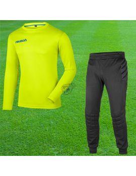 Boutique pour gardiens de but Kit gardien junior  Reusch - Set Match Junior Vert Fluo 3940200-500 / 33