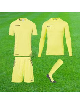 Uhlsport - Score Torwart Set Jaune fluo Junior