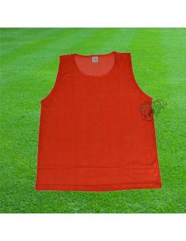 Boutique pour gardiens de but Chasubles  Chasubles de Football Rouge 063209 RG