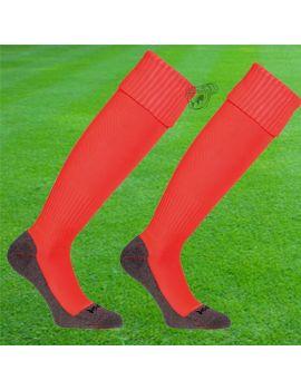 Boutique pour gardiens de but Chaussettes gardien  Uhlsport - Chaussettes Team Pro Essential Orange fluo 1003302-23 / 26