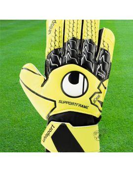 Boutique pour gardiens de but Gants avec barrettes junior  Uhlsport - Gant Soft SupportFrame Junior 1011102-01 / 204