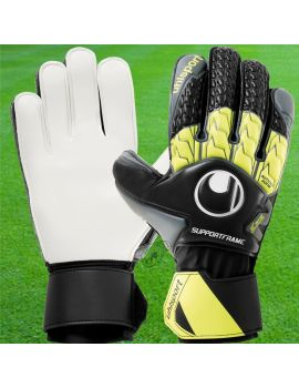 Boutique pour gardiens de but Gants avec barrettes junior  Uhlsport - Gant Soft Supportframe Junior Noir 1011097-01 / 193