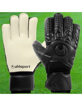 Uhlsport - Comfort Absolutgrip Noir 1011093-01 / 141 Gants de Gardien Match boutique en ligne Gardien de but