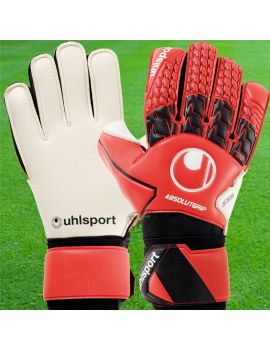 Gant de gardien de but Uhlsport Absolutgrip Rouge Noir