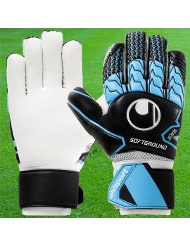 Uhlsport - Soft HN Comp Noir Bleu ciel Blanc 1011099-01 / 204 Gants Entraînement / match boutique en ligne Gardien de but