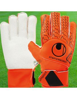 gant de gardien de but Uhlsport Starter Resist Orange Fluo