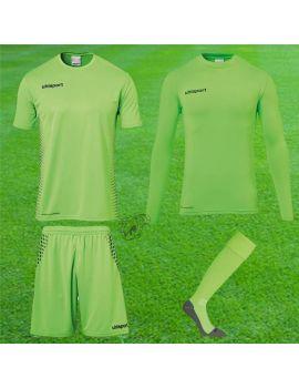 Boutique pour gardiens de but Kit gardien junior  Uhlsport - Score Torwart Set Vert fluo Junior 1005616-01 / 74