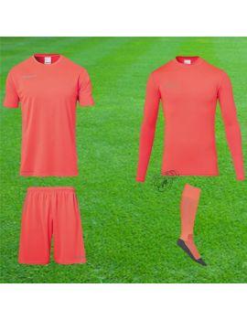 Boutique pour gardiens de but Kit gardien junior  Uhlsport - Score Torwart Set Orange fluo Junior 1005616-02 /
