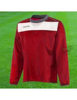 Boutique pour gardiens de but Coupe-vent / sweat  Macron - Coupe Vent Hanoi Rouge Sr 91360201