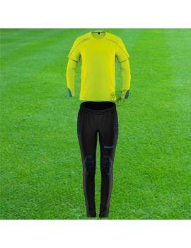 Boutique pour gardiens de but Kit gardien junior  Uhlsport - Kit Stream 22 Torwart Junior Jaune fluo 1005624-08 / 25