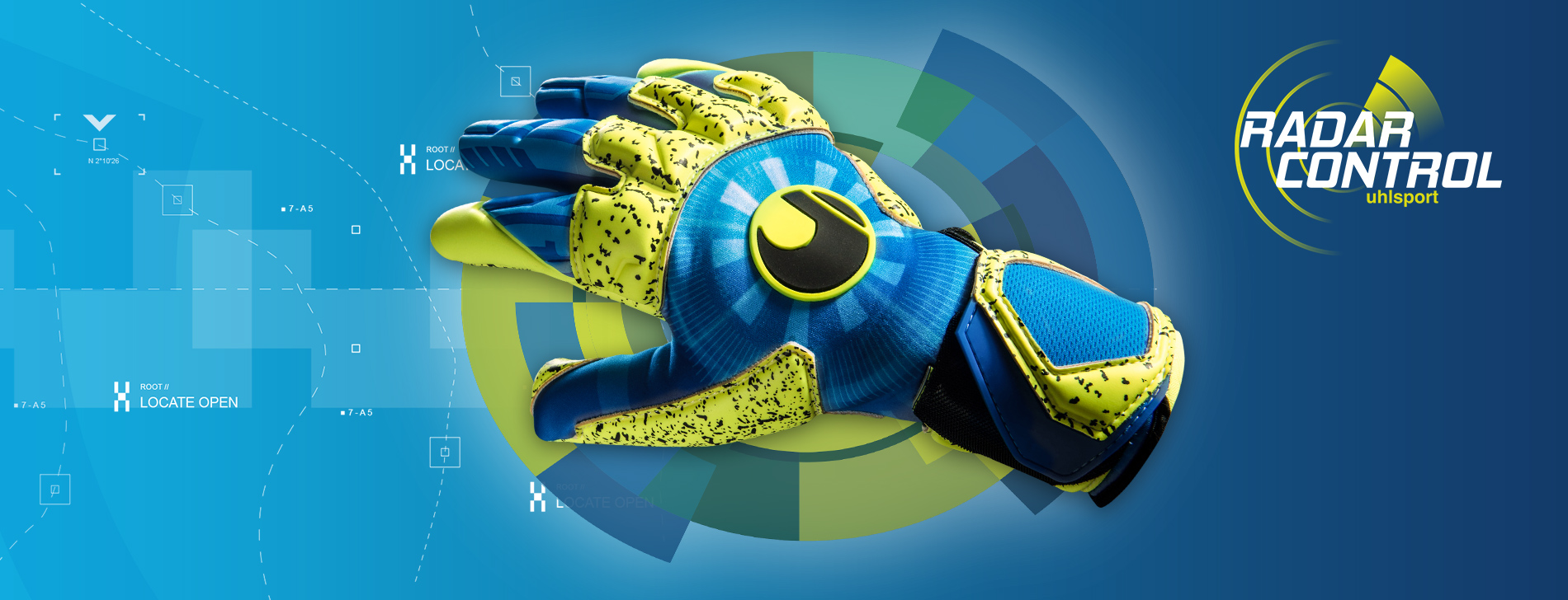 gants de gardien uhlsport radar control