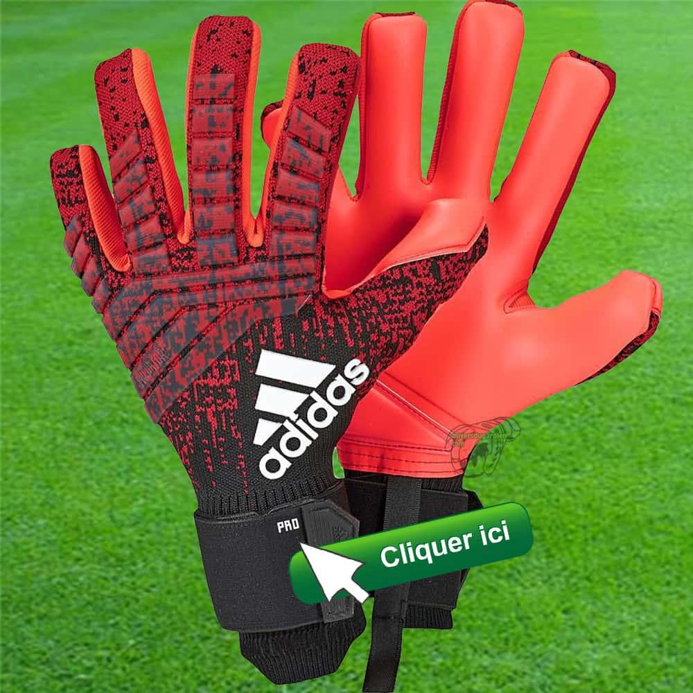 Adidas Predator Pro Noir rouge