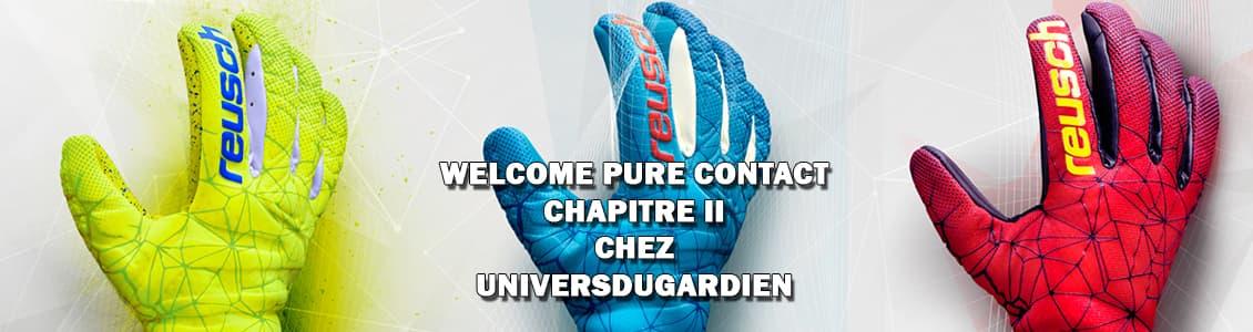 gants de gardien pure contact