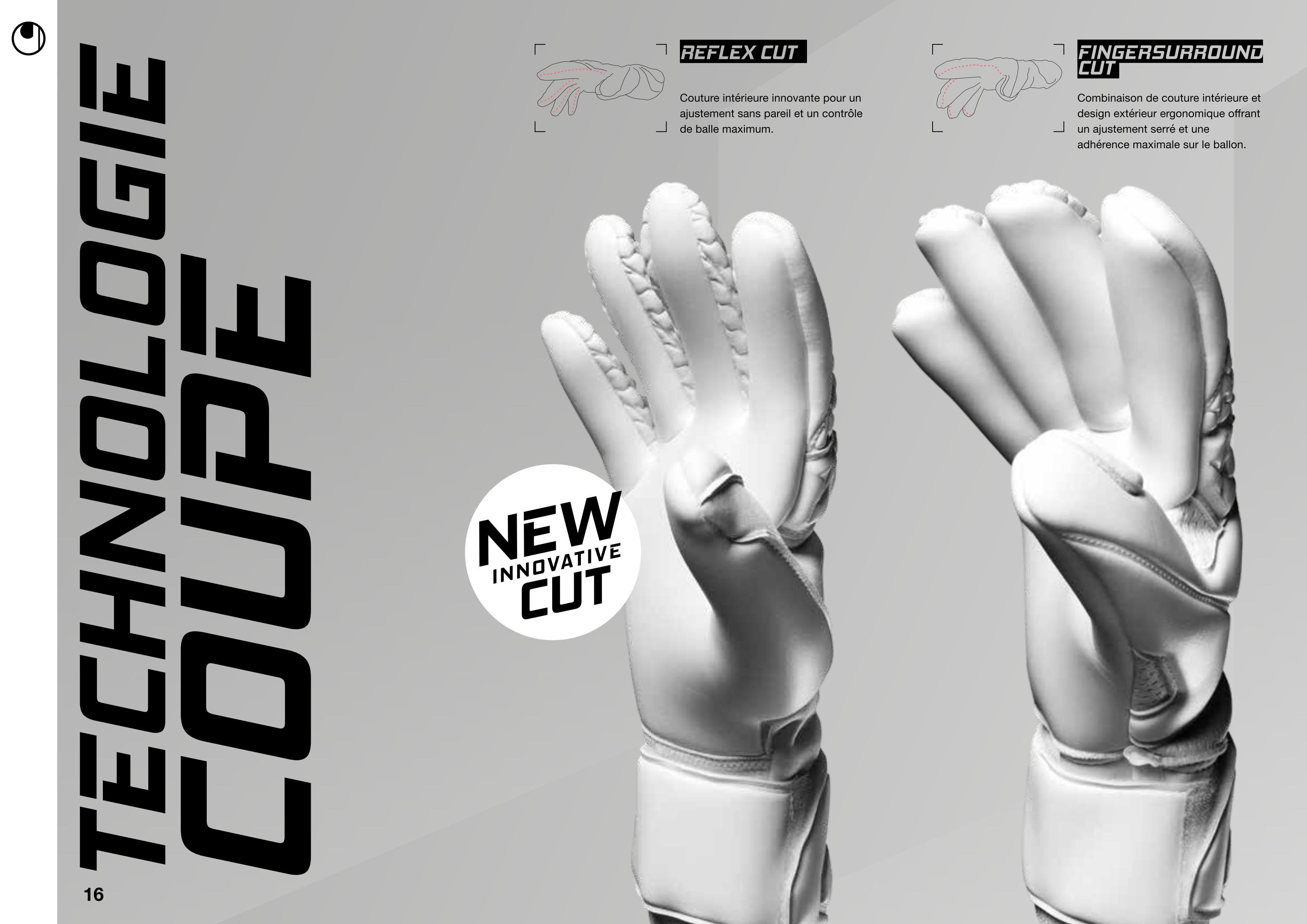 les coupes des gants uhlsport
