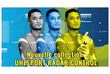 La Collection de gants RADAR CONTROL de chez Uhlsport 2019
