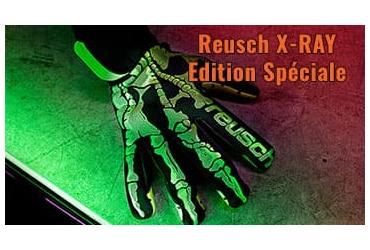 Reusch 2 modèles de gants Rayon X pour Halloween